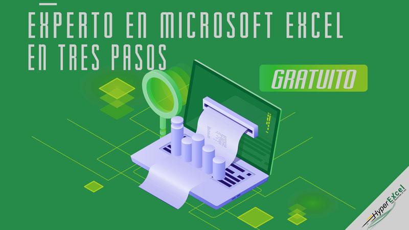 Experto en Microsoft Excel en tres pasos con HyperExcel