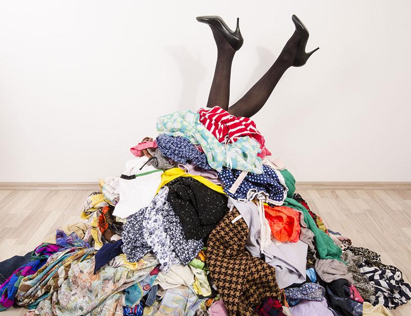 Deja de acumular cosas