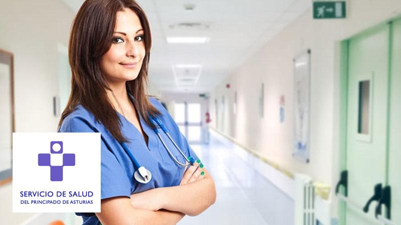 Curso Online de Preparación de Oposiciones a Auxiliar de Enfermería del Servicio de Salud del Principado de Asturias SESPA (Precio: 540€)